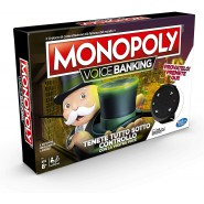 MONOPOLY VOICE BANKING ITALIAN VERSION  Game HASBRO