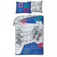 MINECRAFT Single Bed Set STEVE And ALEX CUBED Pixel FACES Original DUVET COVER 140x200cm Cotton OFFICIAL