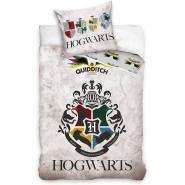 HOGWARTS Crest 4 Houses Animals Symbol Bed Set HARRY POTTER 2 Pieces DUVET COVER 140x200cm and Pillow Case 60x70cm Cotton