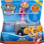 PAW PATROL Playset Vehicle SKYE Sky HELICOPTER Original SPIN MASTER Basic