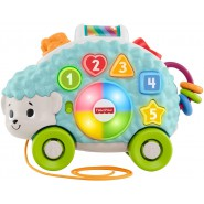 Fisher-Price GJB09 Baby Hedgehog Shapes and Colors Educational Toy with Lights, Sounds and Music  y Ages 9+ Months