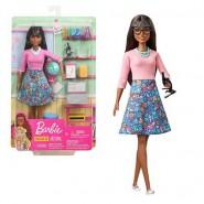 BARBIE AFRO-AMERICAN School teacher Playset LAPTOP Doll and Extra Original Mattel GJC23
