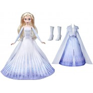 Disney's Frozen 2 ELSA Transformation Fashion Doll With 2 Outfits and 2 Hair Styles 30cm Original HASBRO E6844