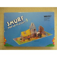 PLAYSET Pop-UP SMURF SPORTS VILLAGE NO Figures included Villaggie Wallace Berrie Peyo 1983