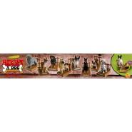 RARE Set 8 Mini Figures ADOPT A DOG Dog Figurines NEW Original DISCAPA