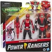 POWER RANGERS Action Figure 15cm RED RANGER with BEASTBOT ARMOR Original HASBRO