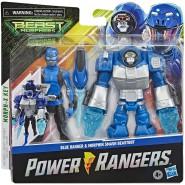POWER RANGERS Action Figure 15cm BLUE RANGER with BEASTBOT ARMOR Original HASBRO