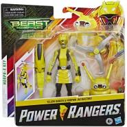 POWER RANGERS Action Figure 15cm YELLOW RANGER with BEASTBOT ARMOR Original HASBRO