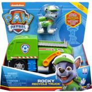 PAW PATROL Playset Vehicle ROCKY RECYCLE TRUCK Original SPIN MASTER Basic