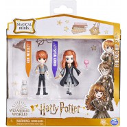 HARRY POTTER Wizarding World Magical Minis Ron and Ginny Weasley Friendship Set with 2 Creatures Spinmaster Original