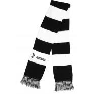 SCARF TUBULAR Original JUVENTUS Logo JJ LARGE STRIPES BLACK AND WHITE Official