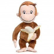 PLUSH 20cm CURIOUS GEORGE Monkey with banana ORIGINAL Official PLAYBYPLAY
