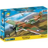 Playset AIRPLANE Model CURTISS P-40E WARHAWK Building Blocks COBI 5706