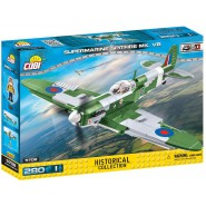 Playset AIRPLANE Model SUPERMARINE SPITFIRE MK VB Building Blocks COBI 5706