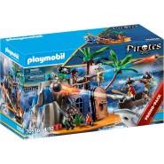 Playset Playmobil Pirate Island Hideout 70556