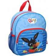 Backpack BING and FLOP 28x22x9cm BLUE 2 Characters From Cartoon ORIGINAL School Kindergarden Acamar Film