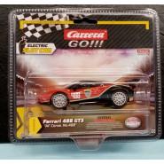 Model FERRARI 488 GT3 AF CORSE Racing Red NUMBER 488 Scale 1:43 10cm Track CARRERA GO 20064179