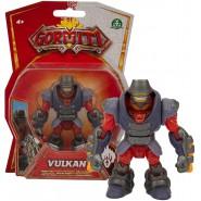 GORMITI Action Figure VULKAN Version ALPHA MAGMA Posable 8cm Original Giochi Preziosi