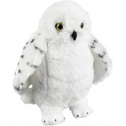 HARRY POTTER Original Plush DELUXE BIG 30cm EDVIGE Owl 12'' NOBLE COLLECTION Official