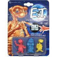 E.T. Extraterrestrial BOX SET 3 Mini Figures 5cm ORIGINAL 1982 EDITION Doctor Collector