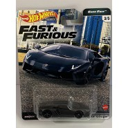 FAST AND FURIOUS Die Cast Car ModelL AMBORGHINI AVENTADOR COUPE' Scale 1:64 6cm HotWheels