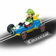 Model LUIGI KART Version MACH 8 from SUPER MARIO Mario Kart 8 Scale 1:43 Track CARRERA GO 20064149 NINTENDO