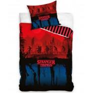 STRANGER THINGS original Netflix Duvet Cover 140x200cm + 70x90cm Cotton ORIGINAL CARBOTEX
