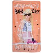 BARBIE Femme Fierce Beach Towel 70x140cm BATH Original New cotton CARBOTEX