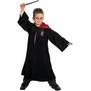 HARRY POTTER  Carnival HOGWARTS HOODED ROBE WITH CLASP Size M MEDIUM Boy 5-7 YEARS Original RUBIE'S