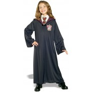 HERMIONE Normal HOODED ROBE WITH CLASP Size MEDIUM 5-7 YEARS Original RUBIE'S Halloween Carnival HARRY POTTER