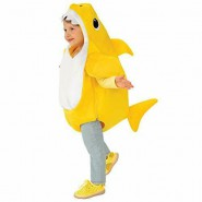 COSTUME Carnevale BABY SHARK With Sound Size SMALL 3-4 YEARS Originale RUBIE'S