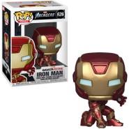 Figure IRON MAN Stark Tech Suit 10cm Bobble Head 10cm Original FUNKO POP Avengers 626