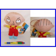 GRIFFIN Family Guy PELUCHE 20cm STEWIE Originale Ufficiale LACCETTO