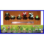BANDAI Set 6 Figures BEN 10 Mini Collection Serie 2 QuattroBraccia Diamante etc.