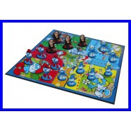 SMURFS Table Board Game NEVER MIND 16 FIGURES Smurf OFFICIAL