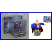 SUPERMAN Stupendo BUSTO IN RESINA Originale JUSTICE LEAGUE OF AMERICA Monogram