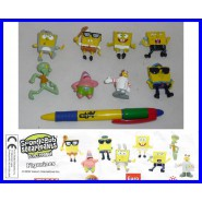 STUPENDO Set 8 FIGURE Mini SPONGEBOB Bob Spugna Patrick Sandy NUOVE RARE Guarda