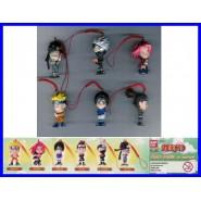 SET 6 Figure NARUTO DANGLER Swing 1 BANDAI Figures SAKURA SASUKE KAKASHI Rare