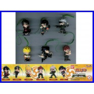 SUPER PREZZO 6 Figure NARUTO DANGLER Laccetto PART 2 GAARA LEE SASUKE KAKASHI !!