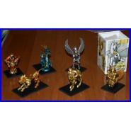 RARO SET 6 Trading Figures SAINT SEIYA HAPPINET Figure SERIE 1 Cavalieri Zodiaco
