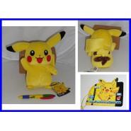 Pokemon STUPENDO Peluche PIKACHU PokeDex 025 ORIGINALE Raro GIAPPONESE Tomy NEW