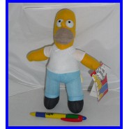 Super Offerta SIMPSONS Peluche 20cm HOMER Originale Ufficiale NUOVO Simpson NEW