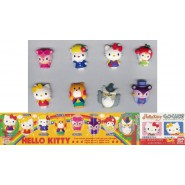 RARO SET 8 Figure CALAMITE Magneti HELLO KITTY APPLE MAGNETS Gasha BANDAI JAPAN