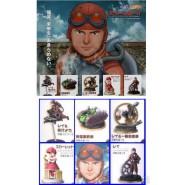 SET 5 Figure Diorami STEAM BOY Manga Anime JAPAN Originali BANDAI Gashapon