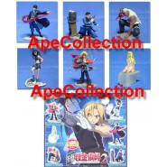 Set 6 Figure FULL METAL ALCHEMIST PART 2 Originali BANDAI JAPAN Gashapon