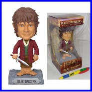THE HOBBIT Figura BILBO BAGGINS Bobble Head 17cm FUNKO