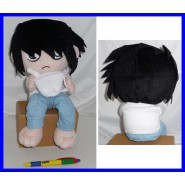 DEATH NOTE Plush Soft Toy 30 ELLE 30cm Sitting with COFFE CUP