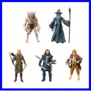 THE HOBBIT Stupenda Figura Action 10cm Originale Ufficiale VIVID Signore Anelli