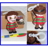 NIGHTMARE Keyring Plush FREDDY KRUEGER 12 cm Original MEZCO