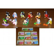 Set 11 Figures TALPE Moles HOLIDAYS Serie KINDER FERRERO Choco Eggs